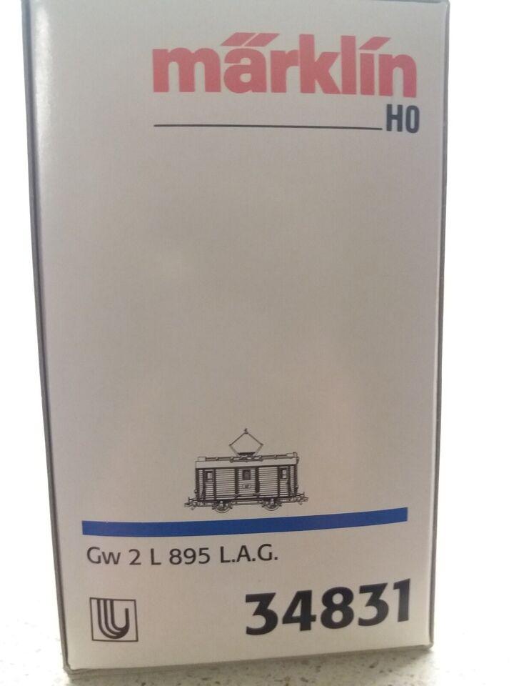 Modeltog, Märklin 34831 Gw 2 L 895 L.A.G. Tysk elektrisk