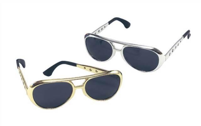 0618476ea8 Elvis Glasses in Silver Fancy Dress 2284519 for sale online