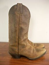 Justin L4934 Bay Apache Leather Biker Womens Cowboy Cowgirl Western Boots 8.5