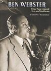 Tenor Sax Legend: Live and Intimate by Ben Webster (DVD, Nov-2009, Shanachie Records)