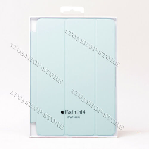 Original Apple iPad Mini 4 Smart Cover Turquoise Teal Mint Light Blue MKM52ZM//A