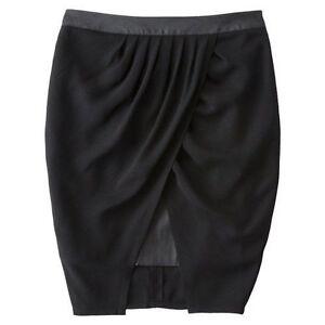 Womens Mossimo Black Tulip Skirt NWOT | eBay