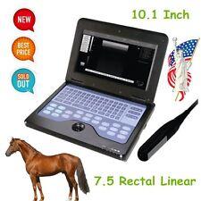 Portable Veterinary Ultrasound Scanner Laptop Machine For Big Animal, Rectal, US
