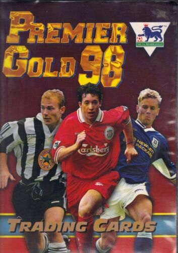 PREMIER GOLD 1998  PREMIER GOLD 98  FOOTBALL  BADGE CARD B1 TO B20  CHOOSE
