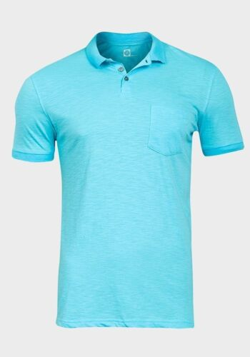 Next Homme Riche en coton col pointu Manches Courtes Polo Shirt-XS S M L XL XXL