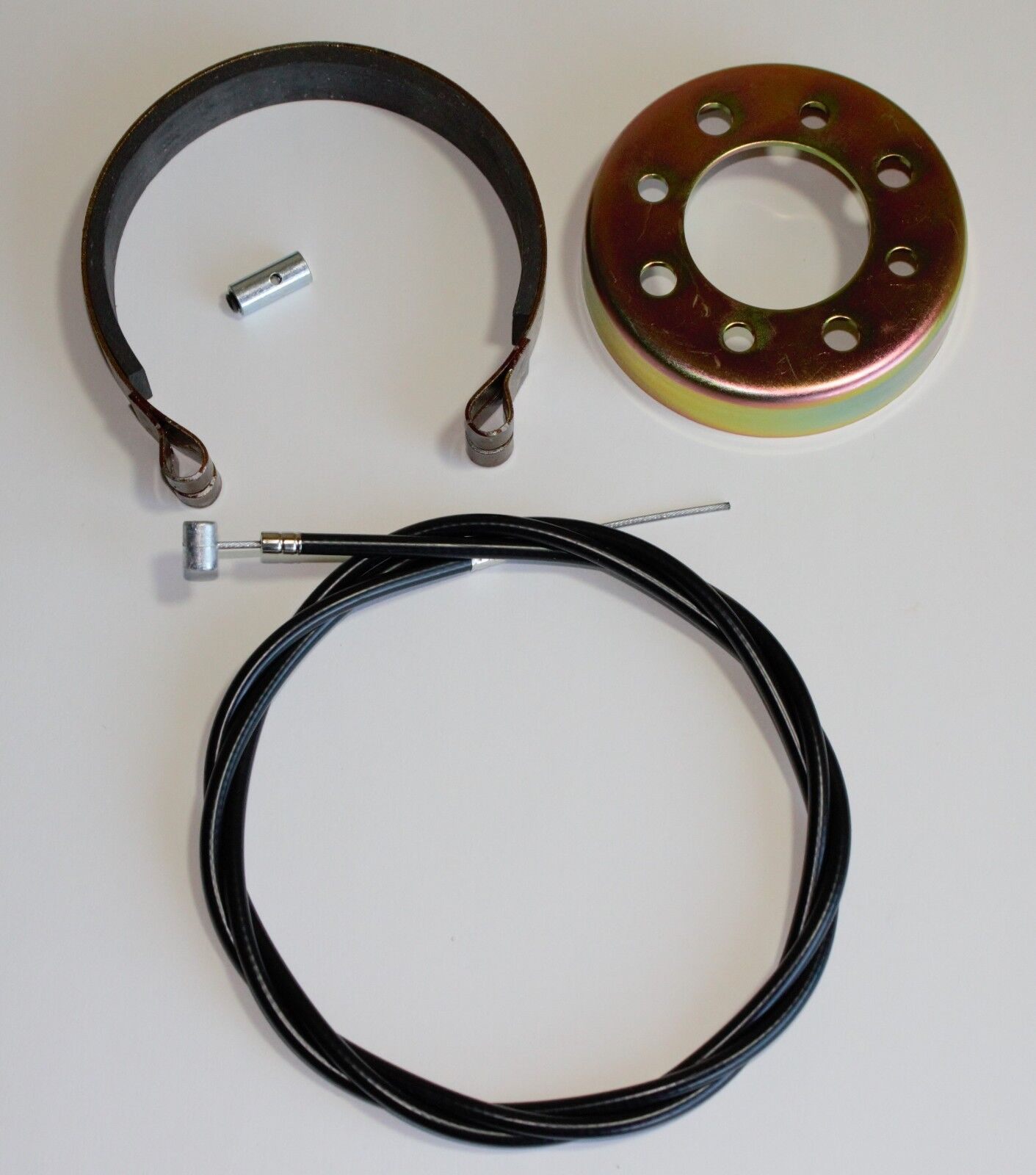Azusa Go Kart, Mini Bike Brake Band And Drum With Heavy Duty Cable. USA
