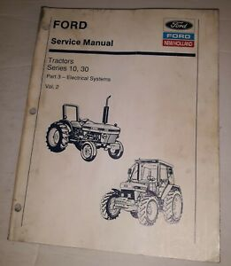 Ford-10-30-Series-Tractor-Service-Manual-Vol-2-Part-3-Electrical-New-Holland
