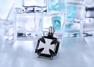 Der GüNstigste Preis Edelstahl Anhänger Eisernes Kreuz Iron Cross 35x35mm Mit Kette 60cm Neu Angenehm Zu Schmecken