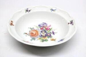 Porzellan-Schale-Kronester-Bavaria-Floraldekor