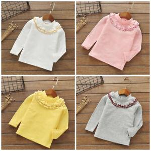 1pc-Kids-baby-Toddler-girls-tops-T-shirt-girls-base-shirt-bottoming-shirt-lace