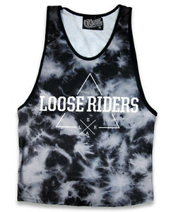 Loose Riders Herren HORNS T-Shirt.Tattoo,Biker,Rockabilly,Oldschool,Custom Style