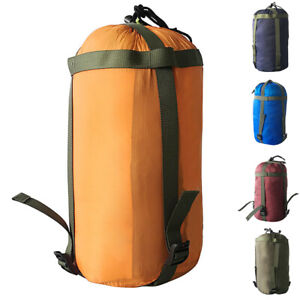 NEU Wasserdicht Schlafsack Camping Outdoor Kompression Stuff Sack Bag leichte Tasche