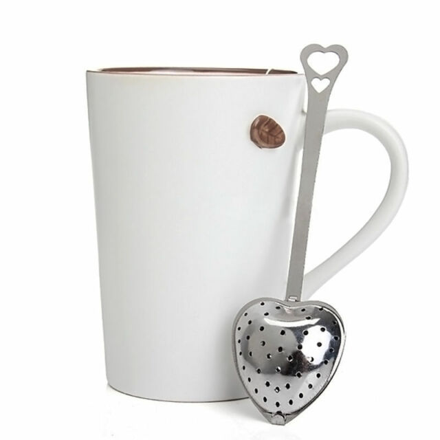Stainless Steel Loose Tea Infuser Leaf Strainer Filter Diffuser Herbal Spice TB
