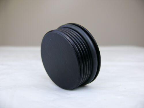 20AN Male O-Ring Allen Head Plug 20 AN ORB Aluminum Cap Made in USA Black