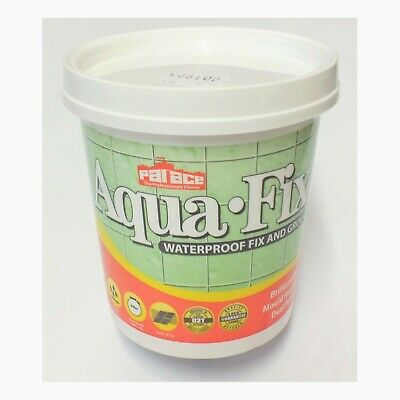 750g Tub. Palace Waterproof Fix /& Grout Brilliant White Aqua-Fix