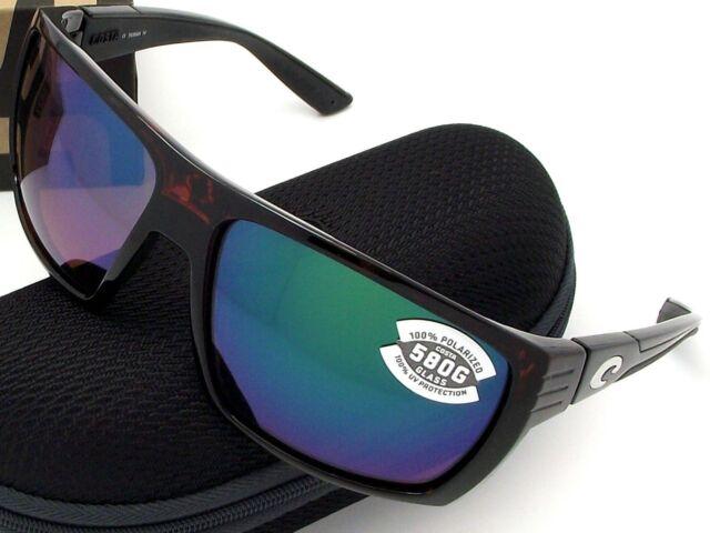 3757455b23793 Costa Del Mar HL 10 OGMGLP Hamlin Tortoise Green Mir W580 Sunglasses ...