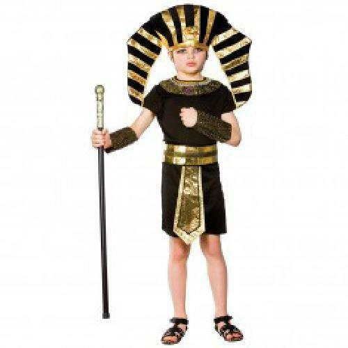 Egyptian Pharaoh Fancy Dress kids Historic Book week Costume