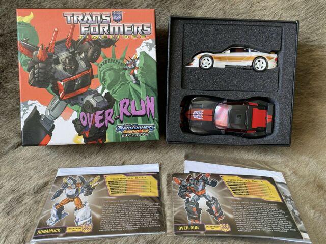 Transformers Collectors Club TFCC 2012 Runabout (Over-run) & Runamuck