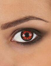 Costume, LENTI A CONTATTO, effetto fantasia occhi rossi Lupo, COLOR BELLA,