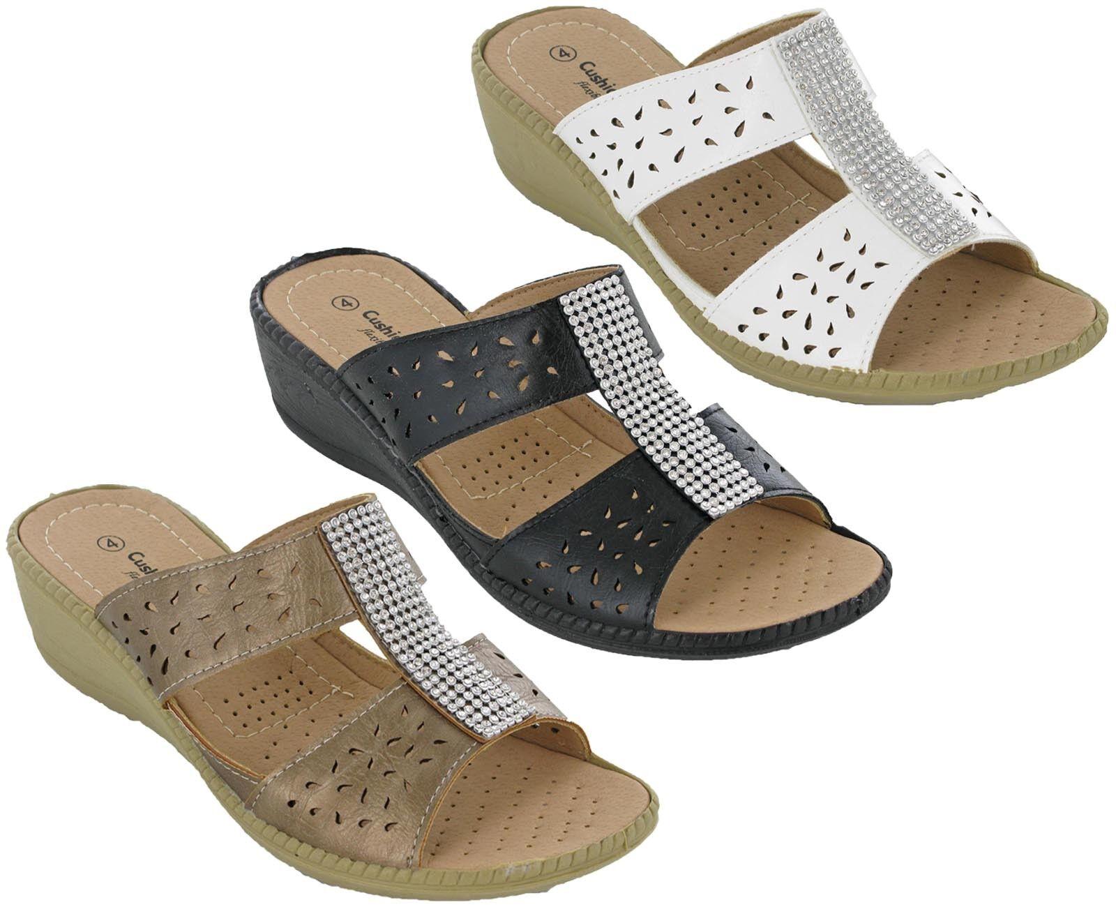 Cushion Walk ohne Zehenfrei Bügel Sandalen Leichte Komfortable Zehenfrei ohne Juwel Bar 1ad111