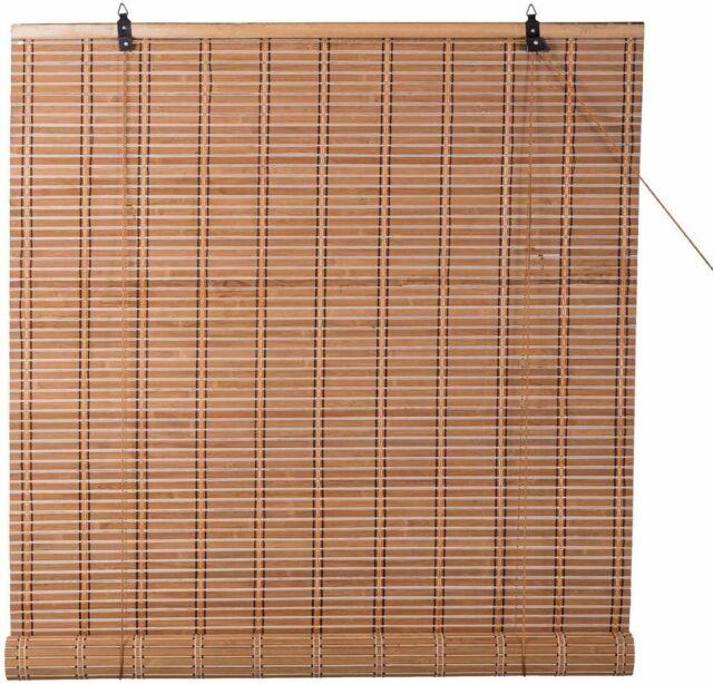 Bamboo Matchstick Window Roll Up Blind