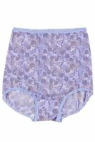 Bali Skimp Skamp Urban Lavender Paisley Print Full-cut Brief Size 7/large