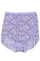 Bali Skimp Skamp Urban Lavender Paisley Print Full-cut Brief Size 7/large