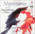 Miniatures: Music for Saxophone and Piano (CD, MDG)