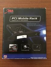 "New Syba PCI Slot Tray Less Mobile Rack for 2.5/"" Sata III HDD//SSD SY-MRA25023"