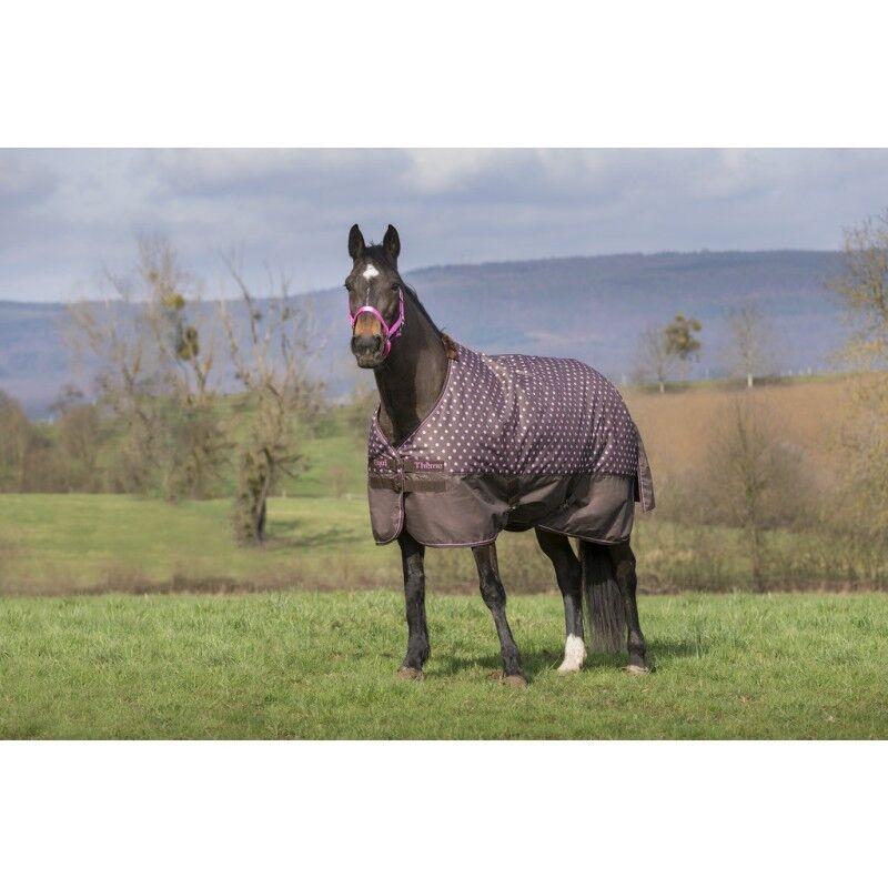 Superb BNWT Equestrian Horse Equi-Theme Lightweight Polka Dot Turnout Rug 600D