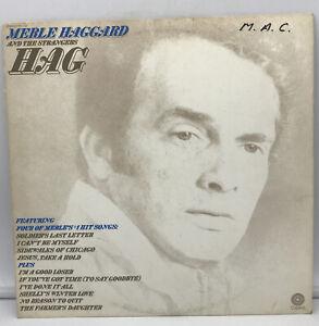 "MERLE HAGGARD AND THE STRANGERS HAG- VINTAGE LP - 12"" NM"
