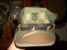8 POINT COVER HAT WOODLAND Navy Seal ,EOD,2nd Class SIZE SMALL MASTER CHIEF NWO