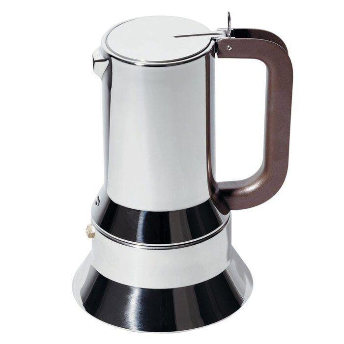 Alessi  9090  en acier inoxydable 6 tasses induction expresso cafetière