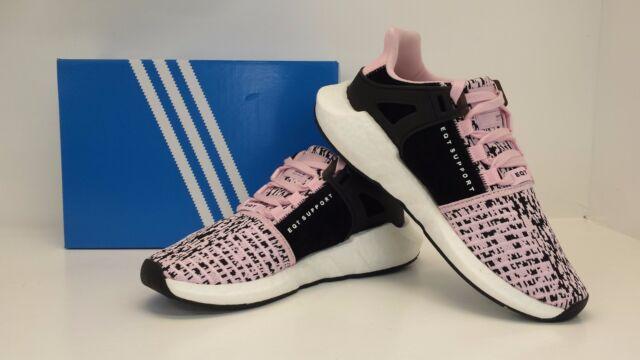 reputable site fbd88 a7eb5 Mens adidas EQT Equipment Support 93/17 Pink White Black Bz0583 US 8.5