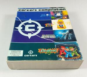 Corkers-Compilation-Commodore-Amiga-Spiel-Big-Box-OVP-Sammlung