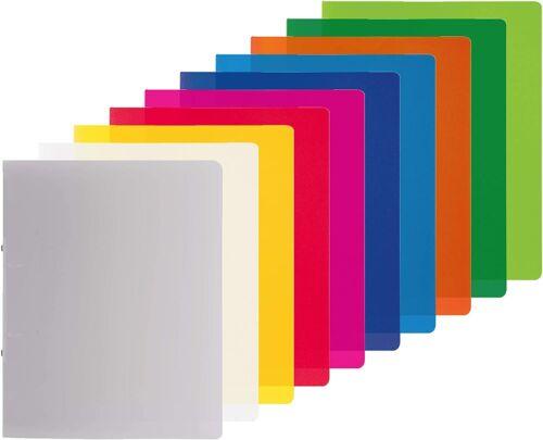 PP A4 Ringbuch 2 Ringe 30 mm 4  Farben  10-65505 Brunnen Ringbuch Fact!