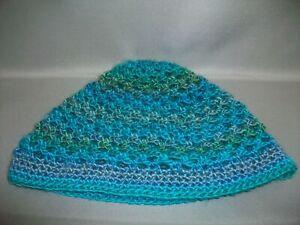 HANDMADE Crochet Vintage-Style 1960's Beanie Hat Chemo Cap - Color Choice - NEW