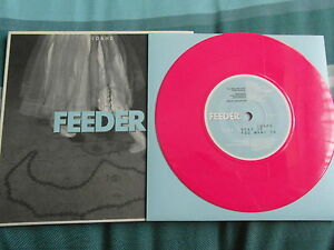 FEEDER-IDAHO-NEW-7-INCH-SINGLE-SHOCKING-PINK-VINYL-RECORD-EXCLUSIVE-TRACK