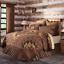 PRESCOTT-QUILT-SET-choose-size-amp-accessories-Rustic-Plaid-Brown-Lodge-VHC-Brands thumbnail 3