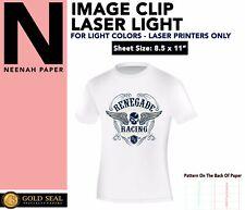 Image Clip Laser Light Self Weeding Heat Transfer Paper 85 X 11 100 Sheets