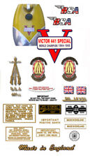 1967-68: B44 - DECAL SET - BSA Victor Special