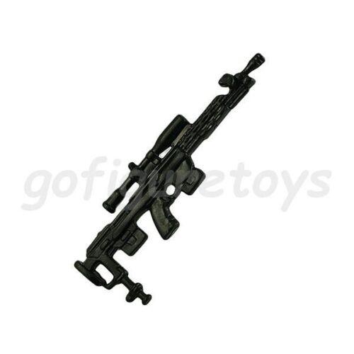 More SNIPER RIFLE machine gun weapon 2003 2004 GI Joe g.i Black Out Wide Scope