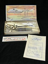 Modell Flugzeug Bausatz Plasticart, 1:100 MI-6 + OVP Modellbaukasten