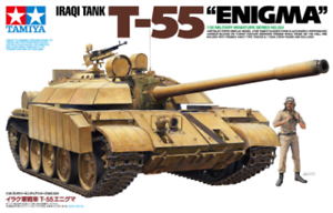 T55 Enigma Iraqi Tank 1 35 Military Model Kit Tamiya 35324