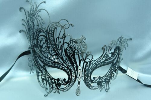 Swan Metal Prom Carnival Costume Birthday Party Masquerade Ball Bachelor Dance