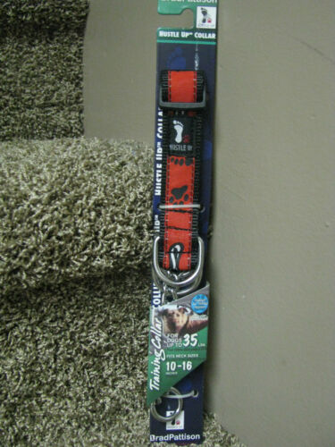 Hustle Up Training Dog Collar for dogs up to 35#-Red-brand new!!