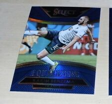 2015 Panini SELECT Soccer KARIM BENZEMA EQUALIZERS CARD 111/299 BLUE PRIZM