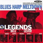 Blues Harp Meltdown, Vol. 3: Legends by Various Artists (CD, Apr-2006, 2 Discs, Mountain Top Productions)