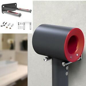 stainless steel wall mount holder for dyson supersonic. Black Bedroom Furniture Sets. Home Design Ideas