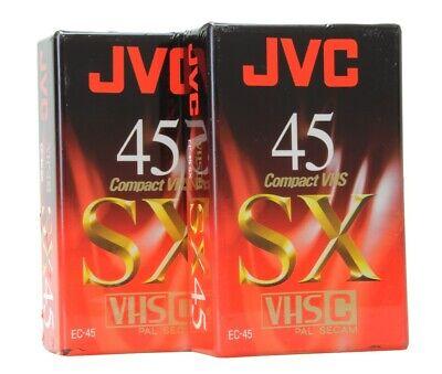 Réf#K-763 JVC VHS-C EHG Hi-Fi 30 Cassette Video pour caméscope